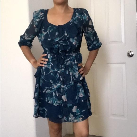 51d0b7743414 LC Lauren Conrad Dresses | Lauren Conrad Printed Dress Size 2 | Poshmark